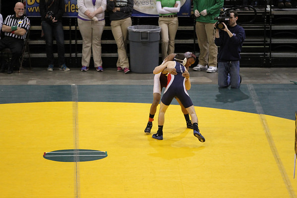 WWHS wrestling states day 1 2014