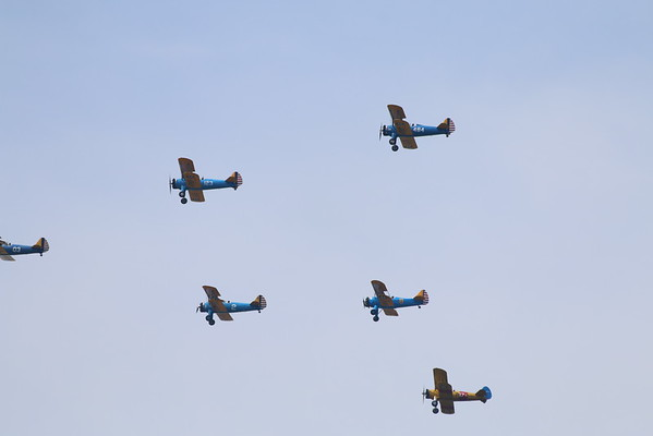 WWII Flyover 5-2015