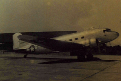 C-47 Sky Train that Les flew from India to Burma and China