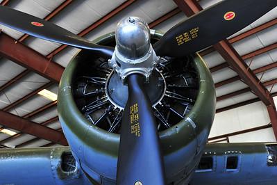 """B-17 """"Texas Raiders"""" #1 engine"""
