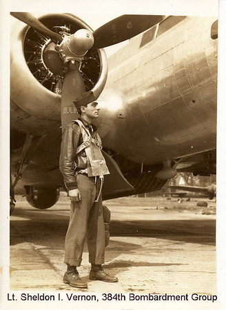 2nd Lt Sheldon I. Vernon, B-17 pilot 384th Bomb Group (H), 8th Air Force, Grafton-Underwood, England 1943-1944