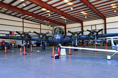 "B-17 ""Texas Raiders"" located at Hooks Airport, near Tomball, Texas"
