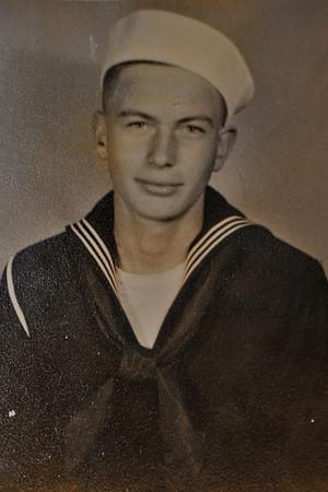 Seaman 1st Class Arthur Jansen, US Navy, YMS-481 Minesweeper, Pacific Theater