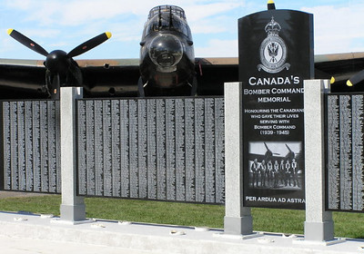 Canada's Bomber Command Memorial; honoring the Canadians who gave their lives serving with Bomber Command (1939-1945)