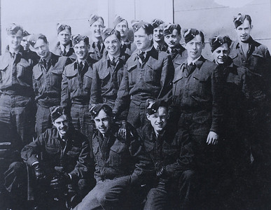 Royal Canadian Air Force, members of the 434th Blue Nose Squadron