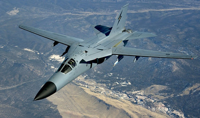 F-111 Aardvark, USAF fighter-bomber of the 80's