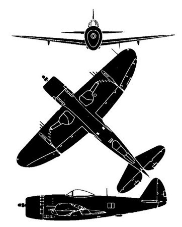 Lt. Col. Clyde J. Whaley, USAF, P-47 Thunderbolt Pilot, 507th Fighter Group