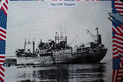 USS Tangiers, last ship Tarver served