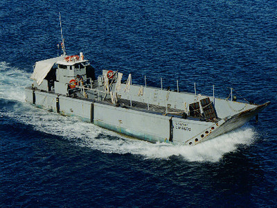 Type of amphibious vessel that Tarver piloted http://en.wikipedia.org/wiki/LCVP_(United_States)