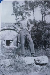 PO3rd Class Tarver during WW2