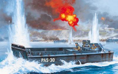 Type of amphibious vessel that Tarver piloted http://en.wikipedia.org/wiki/LCVP_(United_States)  LCVP Amphibious Landing Craft, US Navy WW2