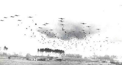 Ken's Unit, the 442nd Troop Carrier, 304th Squadron participated in Operation Market-Garden, an airborne assault on Holland and an attempt to cross the Rhine River at Arnhem.