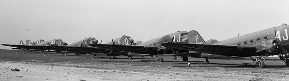 Less than three weeks before the end of the war in Europe, the 442nd Troop Carrier Group's, 305th Troop Carrier Squadron operated out of airfields in occupied Germany. With the end of military operations, and through its remaining days in Europe, the 442nd saw its mission change from troop carrier to transport. It was a mission that the 442nd, as a Reserve unit, would do until 1982.