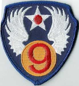 9th Air Force patch, parent organization of the 442nd