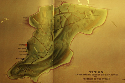 Tinian from the 4th Division USMC book