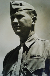 Sgt. Charles H. Saulmon, 4th Marine Division