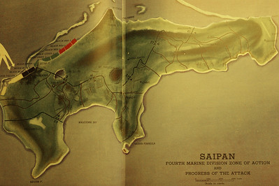 Saipan From 4th Marine Division history book