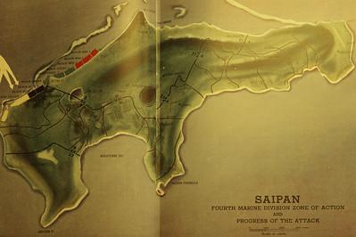 Saipan From 4th Marine Division history book