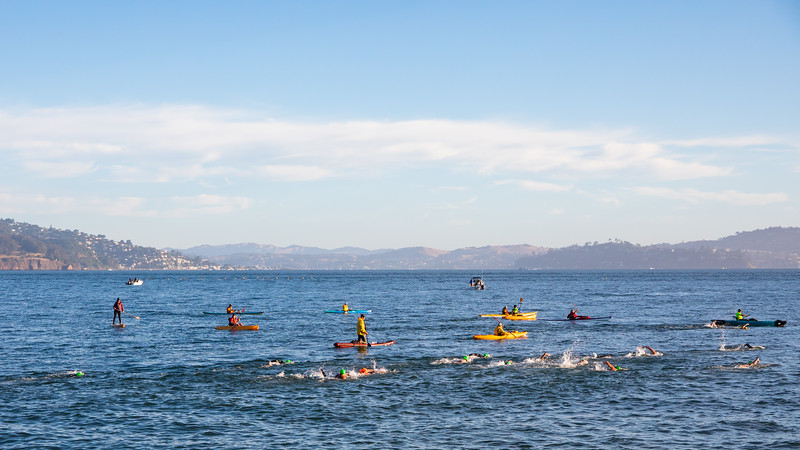 Swim Around the Rock 2018 - San Francisco, CA