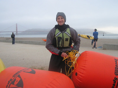 Golden Gate Triathlon Swim Support