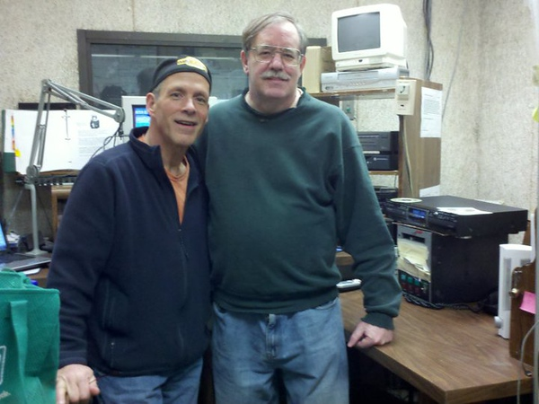 03-27-2011 Gary Titus & Jim Larkin<br /> Gary worked at the radio station in the early 1980's.