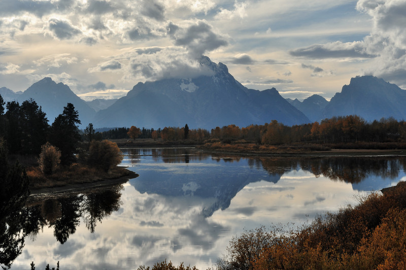 Oxbow Bend At The Grand Teton National Park<br /> Photo # 81