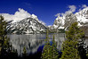 This is Jenny Lake at the Grand Tetons National Park<br /> Photo # 96