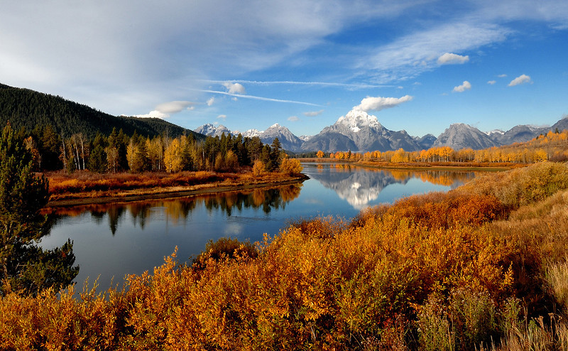 This is my favorite photo from Oxbow Bend of the six differant shots that I took that morning<br /> <br /> Constructive criticism is welcome,Let me know what you think