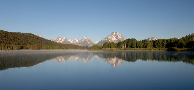 The Grand Tetons , Oxbow Bend<br /> Thank you for your comments