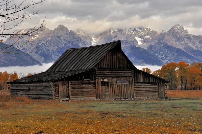 The Grand Teton National Park, Wy (Mormon Row)
