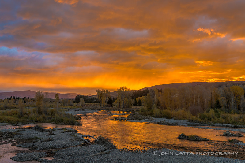 Sunrise Over the Gros Ventre River