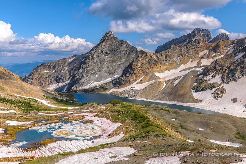 Kit and Snowdrift Lakes