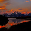Sunrise at Oxbow Bend,The Grand Tetons<br /> Photo # 111