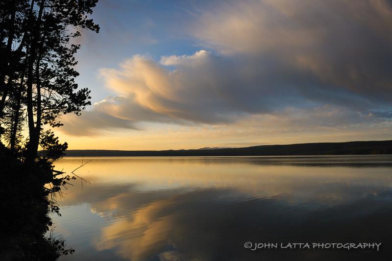 Sunrise Over Shoshone Lake