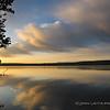 Sunrise Reflection, Shoshone Lake