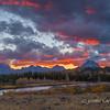 Sunset at the Buffalo Fork