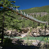 Swinging Bridge - Kootenai River - Montana-6882