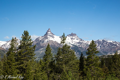 Pilot Peak near Yellowstone NP