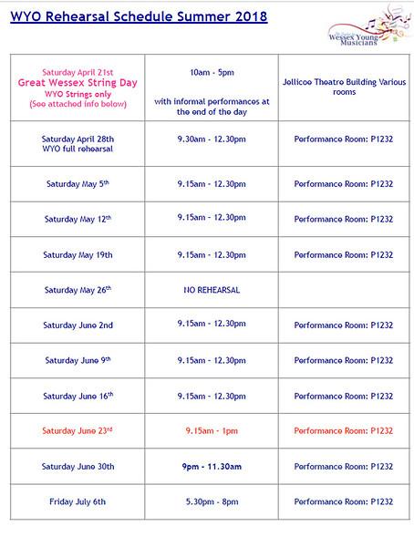 WYO Rehearsal Schedule Summer 2018 Page 1