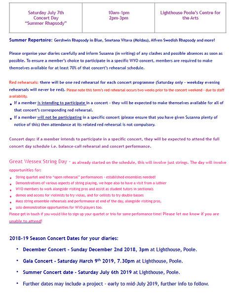 WYO Rehearsal Schedule Summer 2018 Page 2