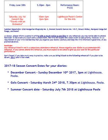 WYO Rehearsal Schedule Summer 2017 Page 2