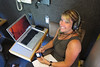 """Producer Denise. She normally produces """"Take Five"""", but gets let out of the building occasionally"""