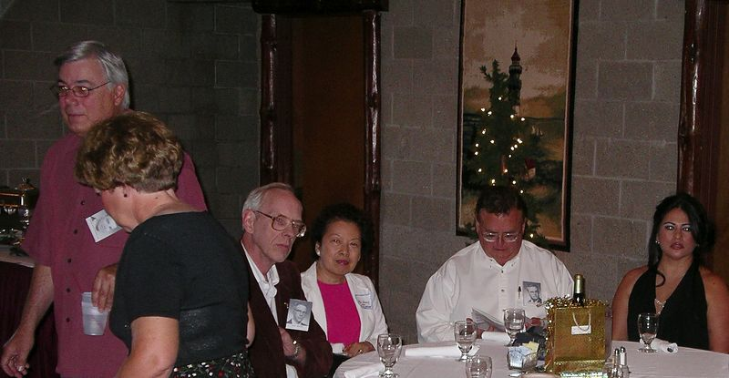 Dave Portcheller, Nancy (Jim) Rollings, Dick & Mei Hsiang Moyer, Roy & Elvia Winemiller<br /> r