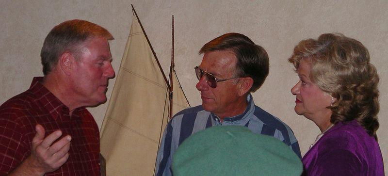 Bob Young, Arlan & Kathy ('65) Wehnes
