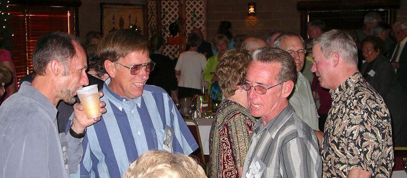 Neil Ackerman, Arlan Wehnes Karl Wiese, Bev Wills (Whirl ) & Bill, Jim Portscheller