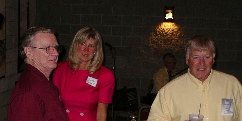 Tom Hexamer, Jeanette Wurster ('67) & Bob Hexamer