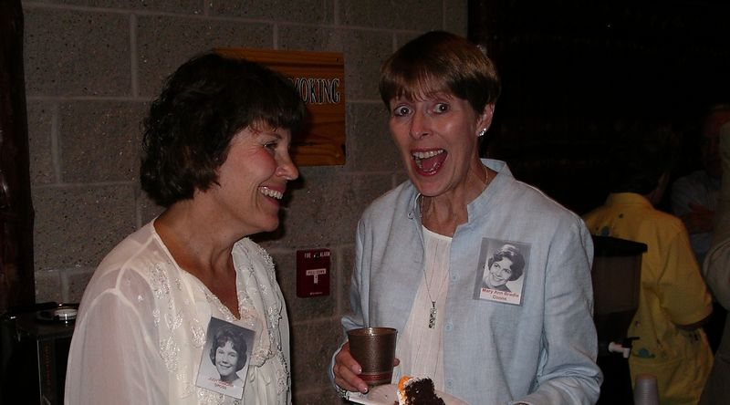 Judy Gross & Mary Ann Bradle