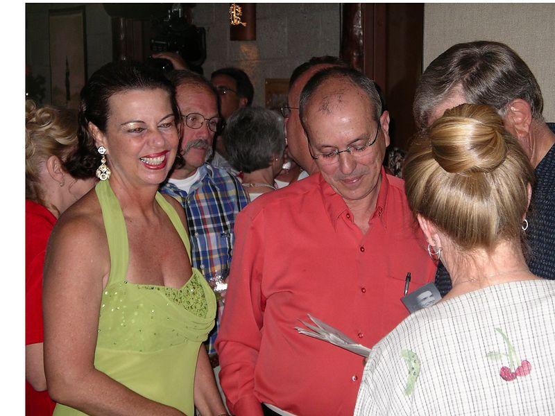 Consuelo & Anselmo Lofego, Cinda (Torrence -'65) (Gary) Gaumer, Don Clayberg
