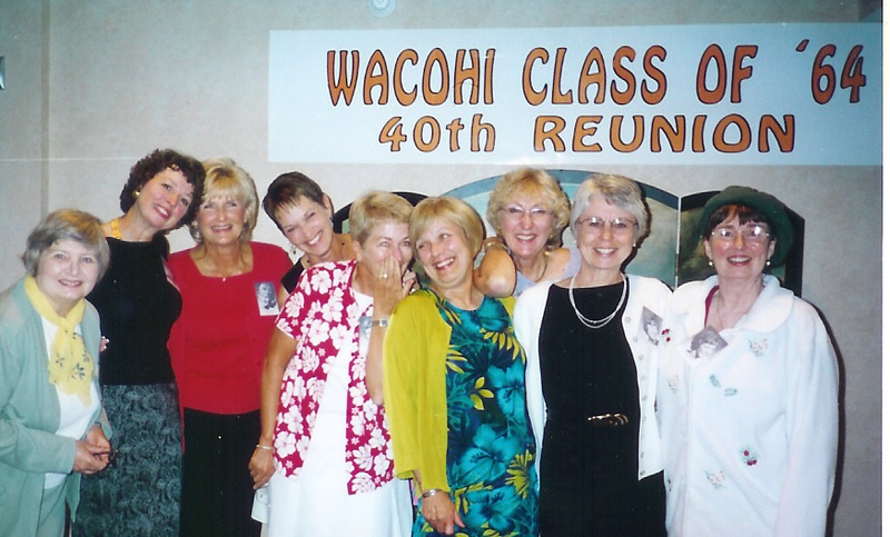 OUR WOMEN CAN MATCHUP WITH ANY OTHER WACOHI CLASS EVER!!  (THEY NEVER CHANGE DO THEY!)<br /> Jane Burch, Robin Meagher, Jeanne Chaney, Diana Romani Joan Oberle, Laura Martens, Susie Ward, Sue Burroughs, Barbara Zwetz.