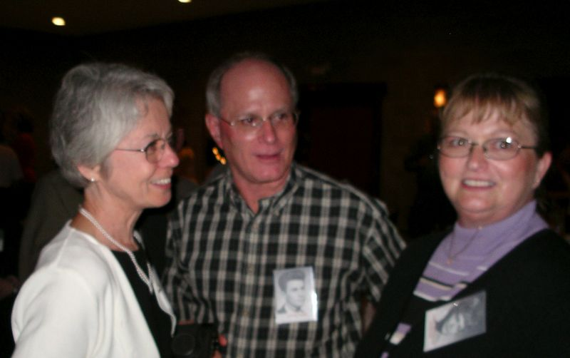 Sue Burroughs, Steve Rassi, Carol Dingledine